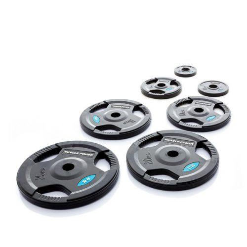 Halterschijven rubber 50mm