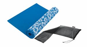 Tunturi yogamat blauw