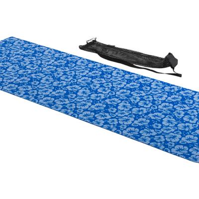 tunturi yoga mat blauw
